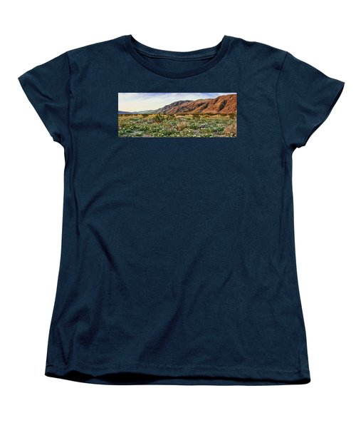 Coyote Canyon Sweet Light Women's T-Shirt (Standard Cut) by Daniel Hebard