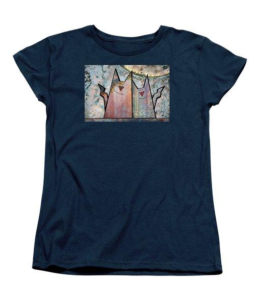 Cozy Women's T-Shirt (Standard Cut) by Joan Ladendorf