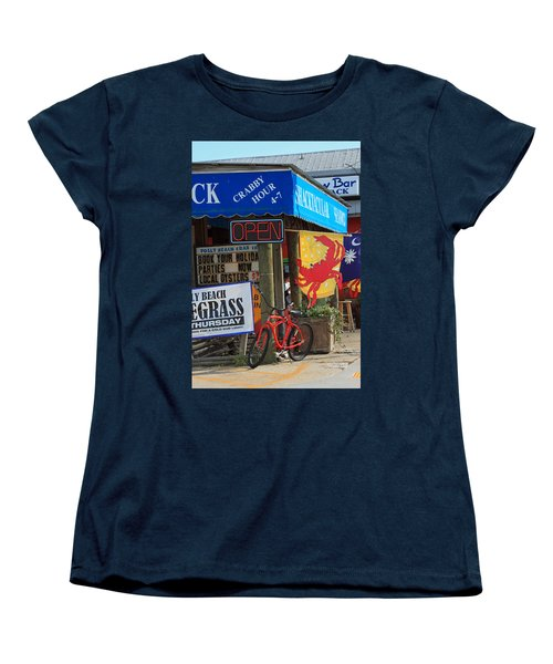 Crabby Hour 4-7 Women's T-Shirt (Standard Cut) by Suzanne Gaff