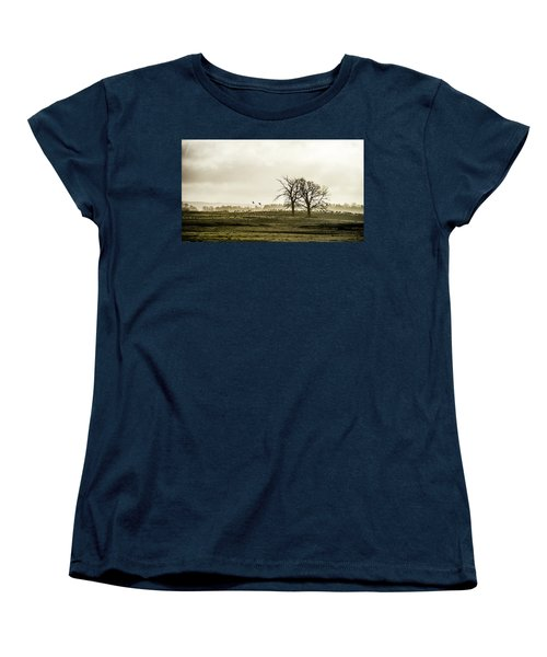Crane Hill Women's T-Shirt (Standard Cut) by Torbjorn Swenelius