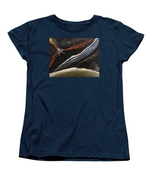 Crazy Women's T-Shirt (Standard Cut) by Steve  Hester
