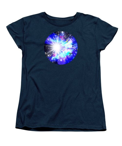 Women's T-Shirt (Standard Cut) featuring the digital art Create 1 by Leanne Seymour