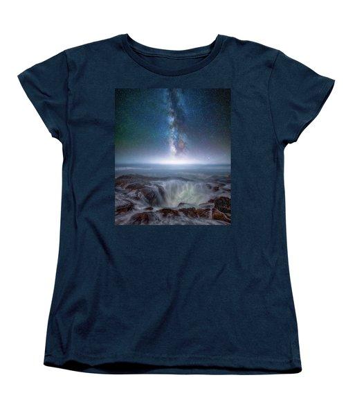 Women's T-Shirt (Standard Cut) featuring the photograph Creation by Darren White