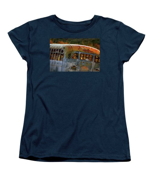 Women's T-Shirt (Standard Cut) featuring the photograph Creepers by Trish Mistric