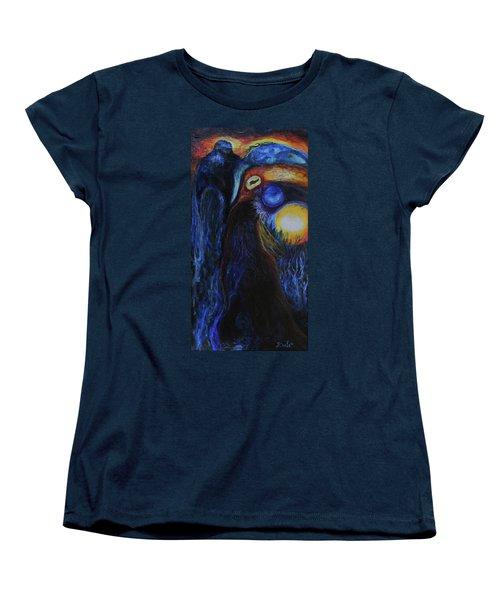 Creeping Plague Women's T-Shirt (Standard Cut) by Christophe Ennis