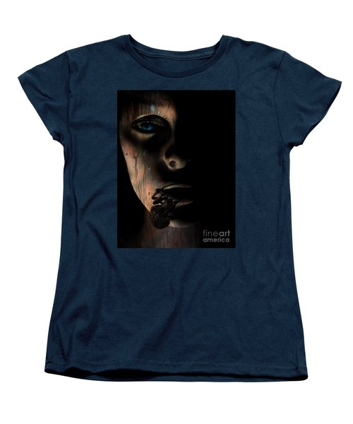 Creepy Women's T-Shirt (Standard Cut) by Trena Mara