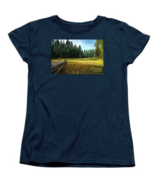Crescent Meadows Sequoia Np Women's T-Shirt (Standard Cut) by Daniel Heine