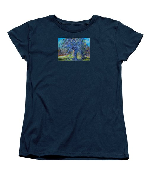 Crystal Light Women's T-Shirt (Standard Cut) by Anna  Duyunova