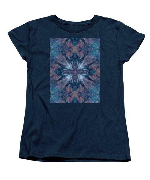 Cross Of Mentors Women's T-Shirt (Standard Cut) by Maria Watt