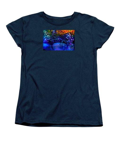 Cross Over The Bridge Women's T-Shirt (Standard Cut) by Sherri's Of Palm Springs