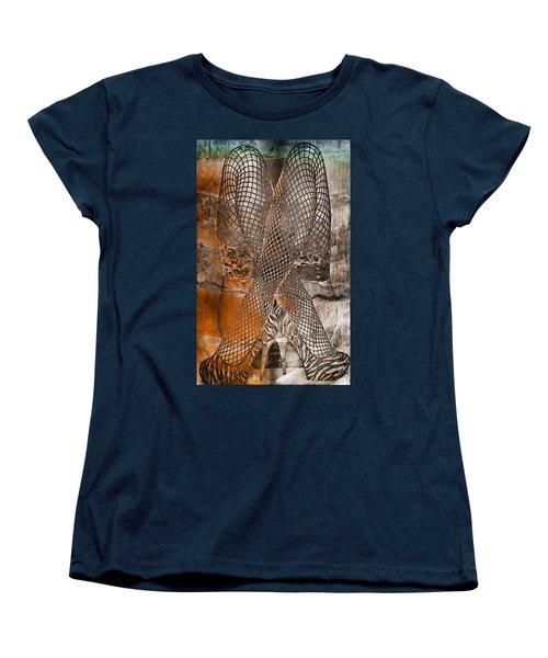 Cross Walk Women's T-Shirt (Standard Cut)