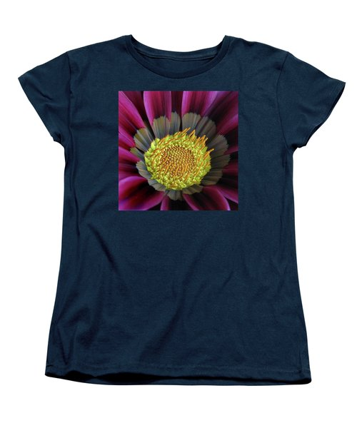 Women's T-Shirt (Standard Cut) featuring the photograph Crown Of Pollen by David and Carol Kelly