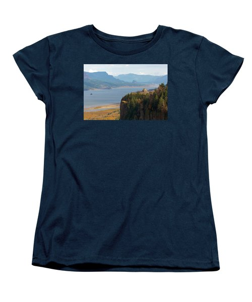 Crown Point On Columbia River Gorge Women's T-Shirt (Standard Fit)
