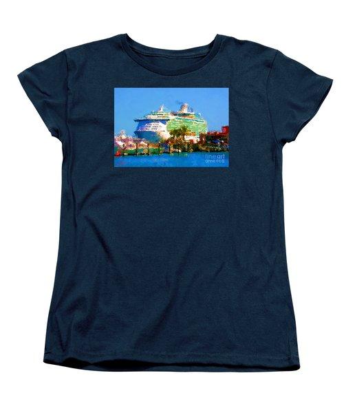 Crucero Cabo Women's T-Shirt (Standard Cut) by Gerhardt Isringhaus