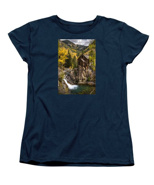 Crystal Autumn Women's T-Shirt (Standard Cut) by Bjorn Burton