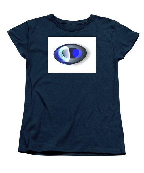 Crystal Eye Women's T-Shirt (Standard Cut) by Thibault Toussaint