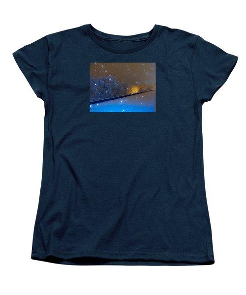Crystal Falls Women's T-Shirt (Standard Cut) by Glenn Feron