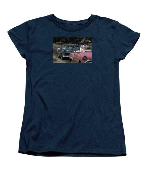 Cuba Car 4 Women's T-Shirt (Standard Cut) by Will Burlingham