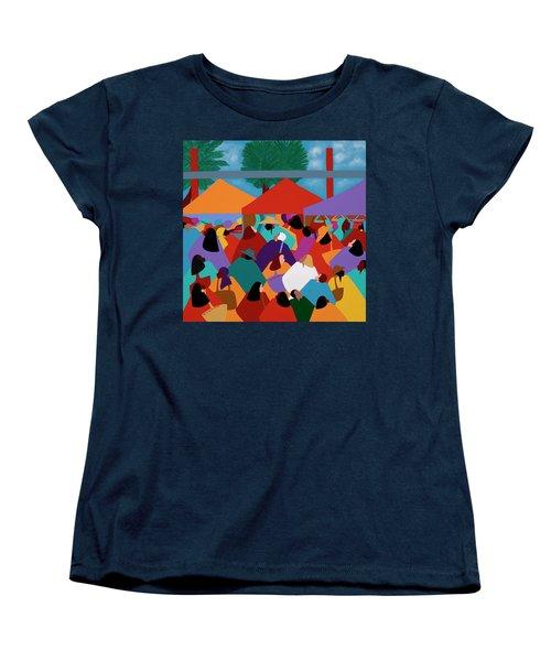 Curacao Market Women's T-Shirt (Standard Fit)