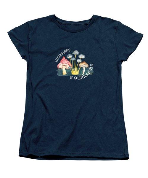 Curiouser And Curiouser Women's T-Shirt (Standard Cut)