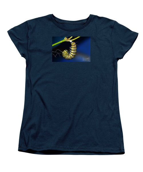 Curly Q Women's T-Shirt (Standard Cut) by Lew Davis