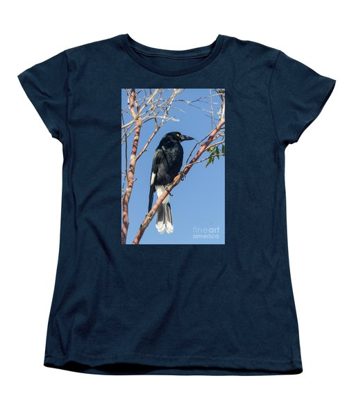 Currawong Women's T-Shirt (Standard Cut) by Werner Padarin