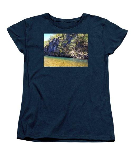 Current River 7 Women's T-Shirt (Standard Cut) by Marty Koch