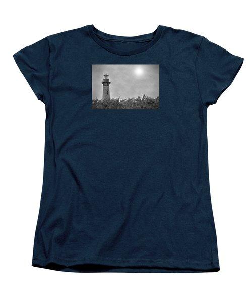 Women's T-Shirt (Standard Cut) featuring the photograph Currituck Lighthouse by Marion Johnson
