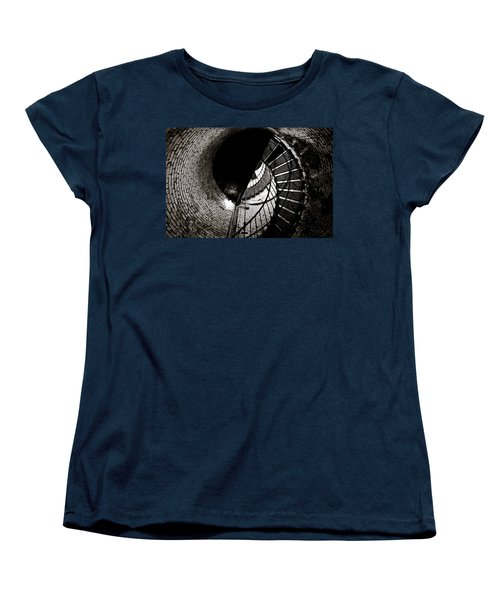Women's T-Shirt (Standard Cut) featuring the photograph Currituck Spiral II by David Sutton