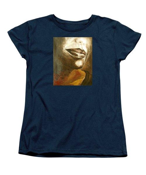 Curves  Women's T-Shirt (Standard Cut) by Jane See