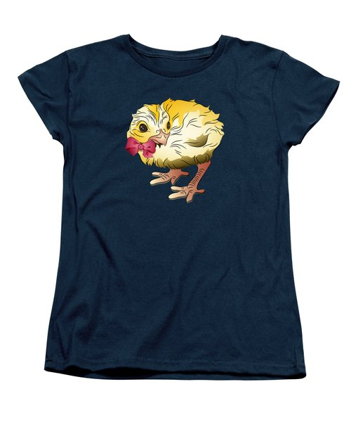 Cute Chick Women's T-Shirt (Standard Cut) by MM Anderson