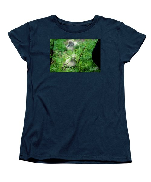 Cygnets V Women's T-Shirt (Standard Cut) by Cassandra Buckley