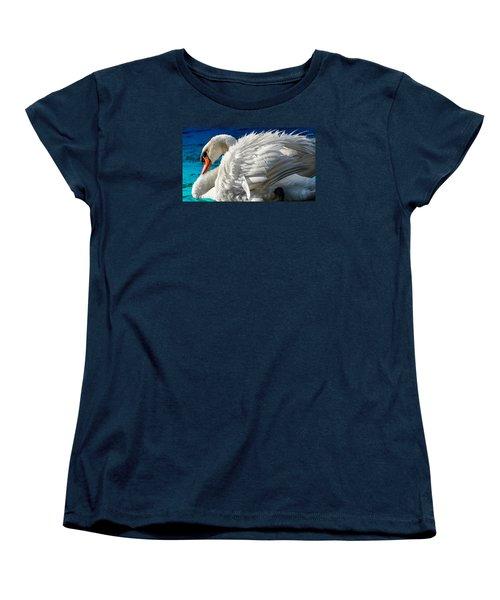 Women's T-Shirt (Standard Cut) featuring the photograph Cygnus Shine 3 by Brian Stevens