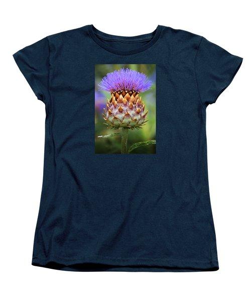 Cynara Cardunculus. Women's T-Shirt (Standard Cut) by Terence Davis