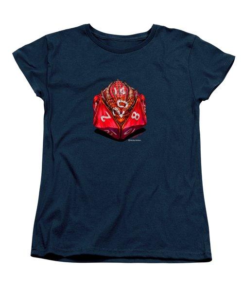 D20 Dragon T Shirt Women's T-Shirt (Standard Cut)