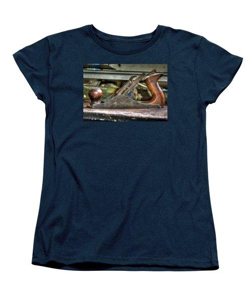 Women's T-Shirt (Standard Cut) featuring the photograph Da Plane by Douglas Stucky