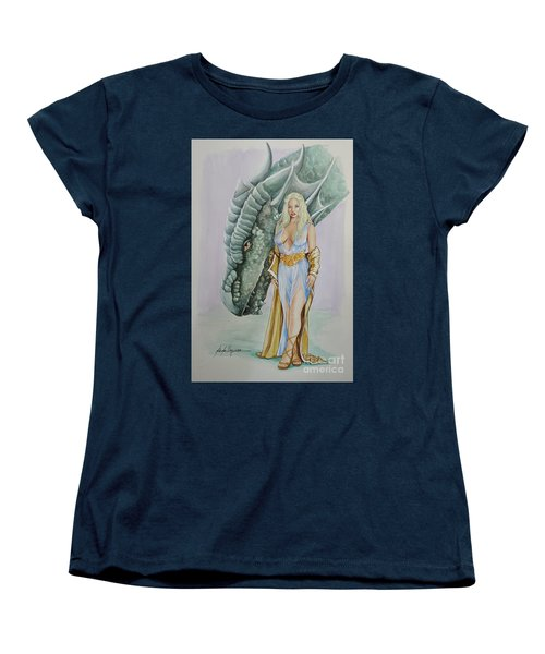 Daenerys Targaryen - Game Of Thrones Women's T-Shirt (Standard Cut)