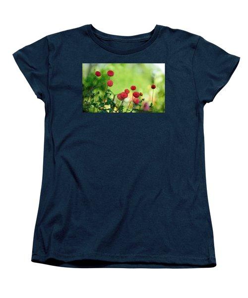 Dahlias Women's T-Shirt (Standard Cut) by Diane Giurco