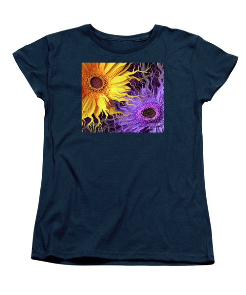 Daisy Yin Daisy Yang Women's T-Shirt (Standard Cut) by Christopher Beikmann