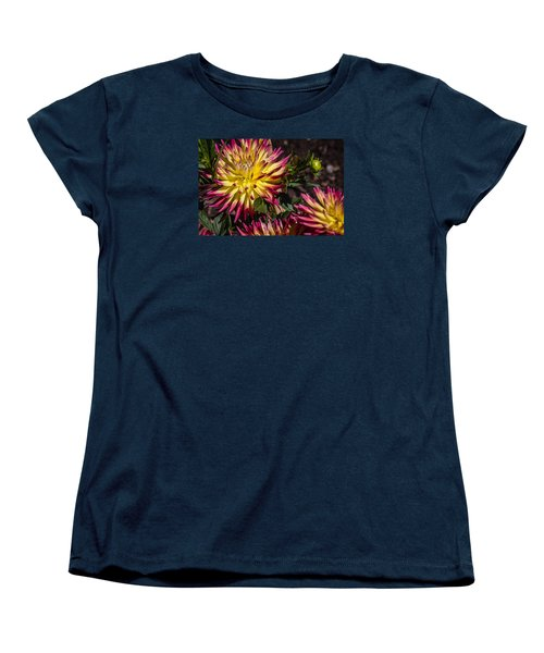 Women's T-Shirt (Standard Cut) featuring the photograph Dalhia by Randy Bayne