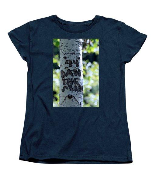 Dan The Man Women's T-Shirt (Standard Cut) by Eric Tressler