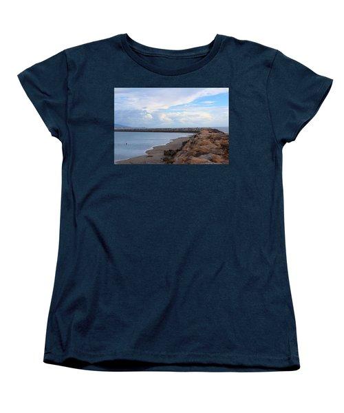 Dana Point  Women's T-Shirt (Standard Cut) by Viktor Savchenko