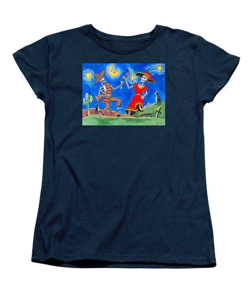Dance Of The Dead Women's T-Shirt (Standard Cut) by Dale Loos Jr