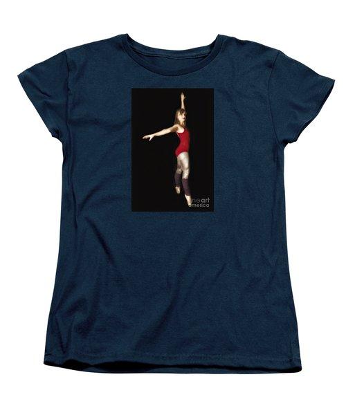 Women's T-Shirt (Standard Cut) featuring the photograph Dancer  No. 4 ... by Chuck Caramella