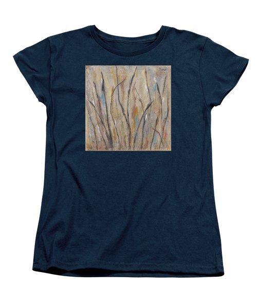 Dancing Cattails I Women's T-Shirt (Standard Cut) by Trish Toro
