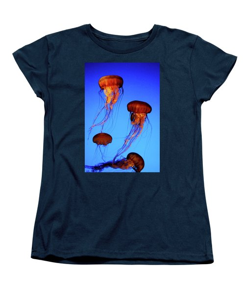 Women's T-Shirt (Standard Cut) featuring the photograph Dancing Jellyfish by Anthony Jones