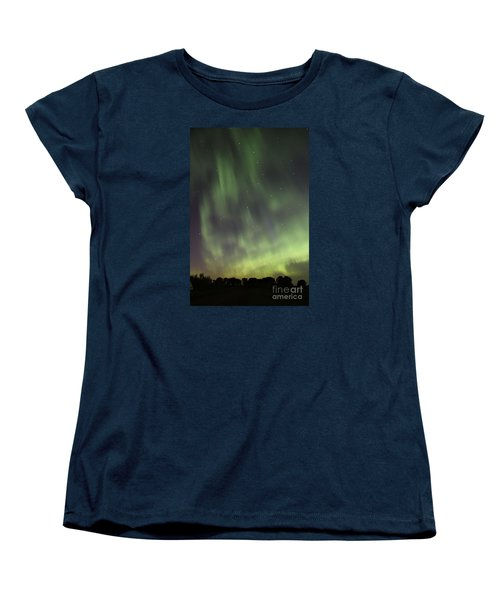 Women's T-Shirt (Standard Cut) featuring the photograph Dancing With The Dipper by Larry Ricker