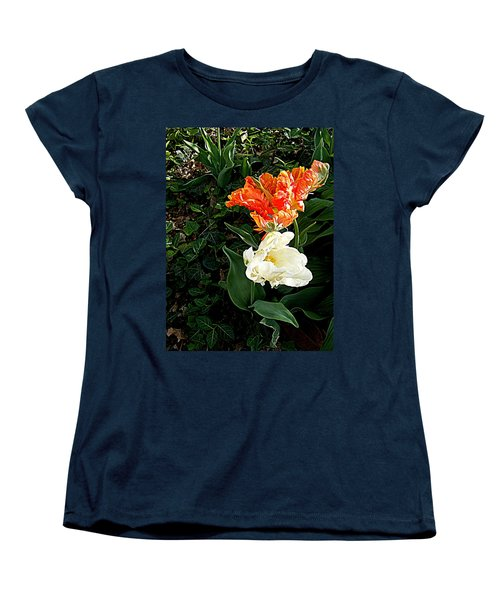 Women's T-Shirt (Standard Cut) featuring the photograph Dancing With The Stars by Nancy Kane Chapman