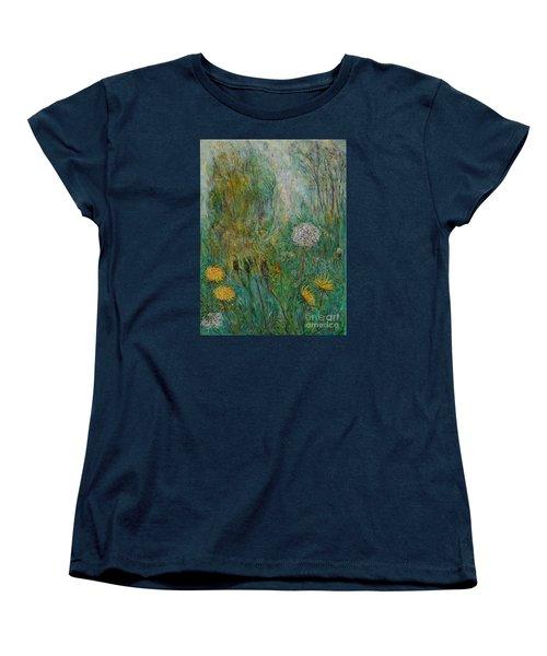 Dandelions Women's T-Shirt (Standard Cut) by Anna Yurasovsky