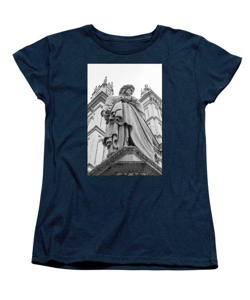 Women's T-Shirt (Standard Cut) featuring the photograph Dante Alighieri by Sonny Marcyan